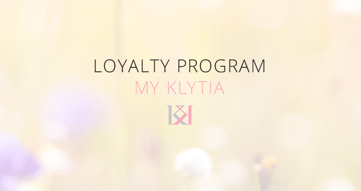 Many advantages if you enter our Loyalty Program My Klytia