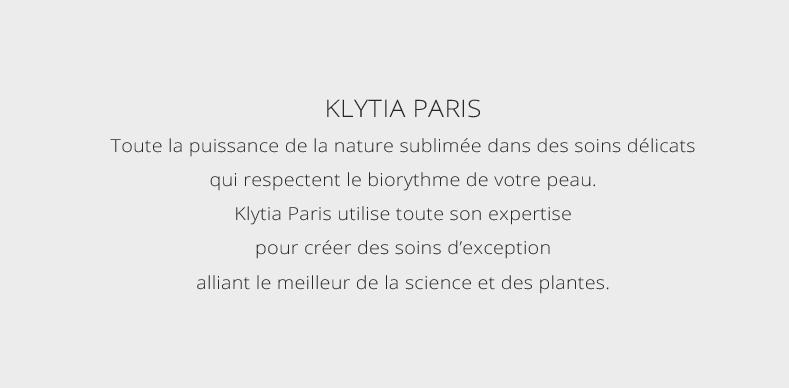 Klytia Paris, toute la puissance de la nature